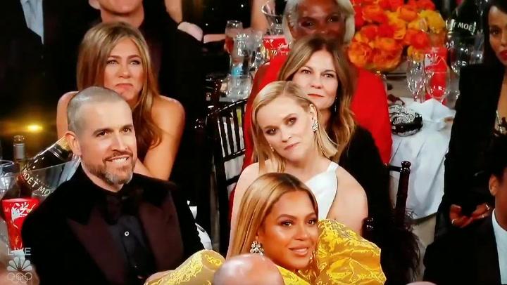 Las redes enloquecen con la reacción de Jennifer Aniston con Brad Pitt