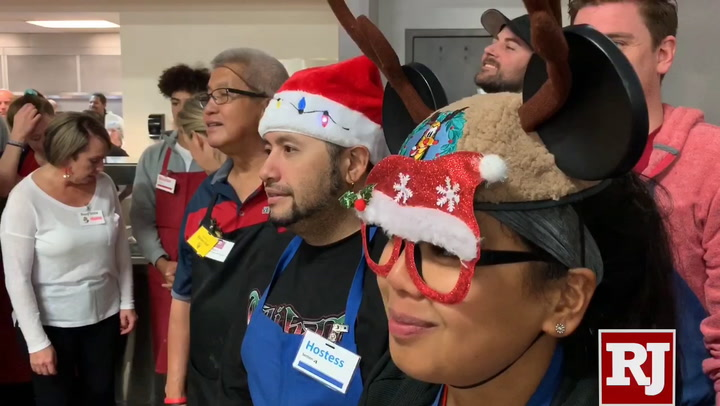 ... of Southern Nevada and more than 100 volunteers served 1,000 Christmas meals to Southern Nevada's homeless and less fortunate. (K.M. Cannon Las Vegas ...