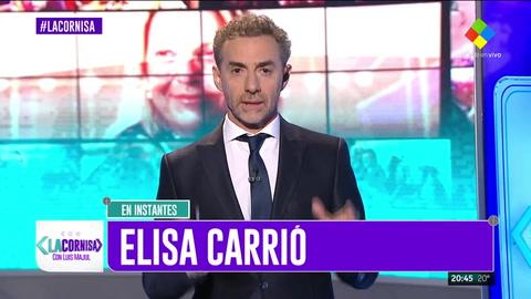 Luis Majul le contestó a Mirtha Legrand en La Cornisa