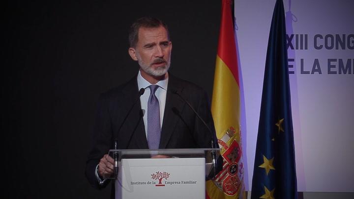 Felipe VI: \'No podemos caer en el pesimismo\'