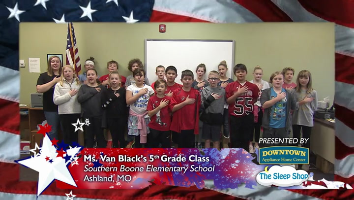 Southern Boone Elementary School - Ms. Van Black - 5th Grade