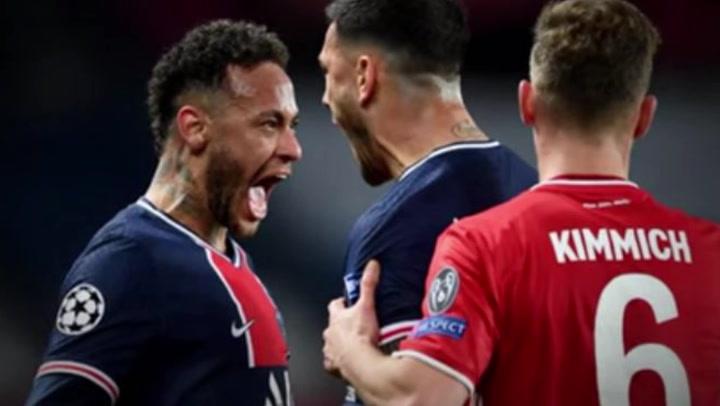 Neymar niega que provocara a Kimmich en la celebración