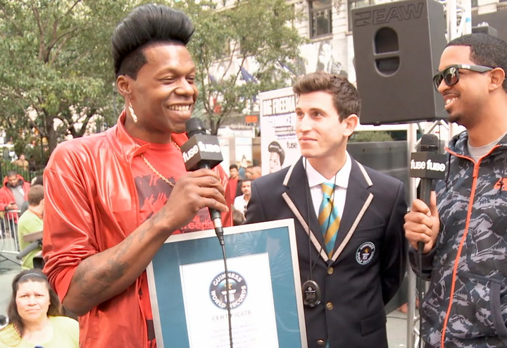 Big Freedia Sets Twerking World Record