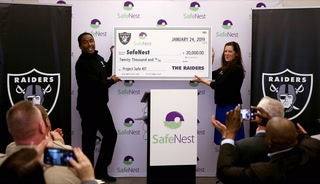 Las Vegas police and Raiders partner with SafeNest
