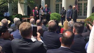Donald Trump recognizes Jon Ponder of Hope for Prisoners