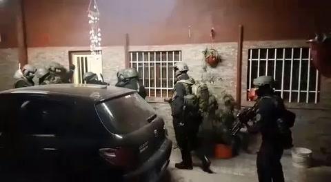 Cinco narcos detenidos y secuestro de armas de fuego en la causa Los miserables