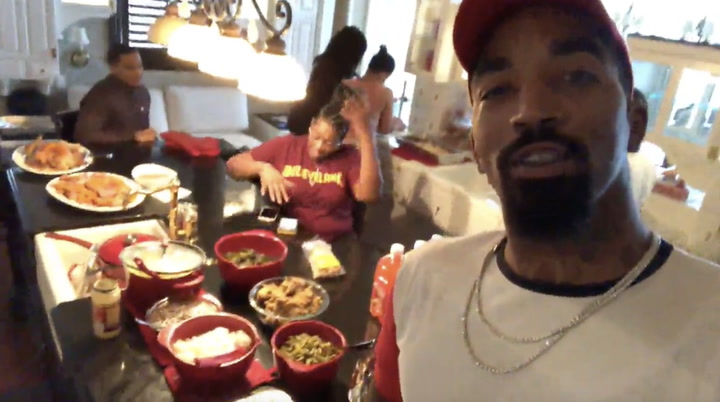Thanksgiving Goals Courtesy Of JR Smith