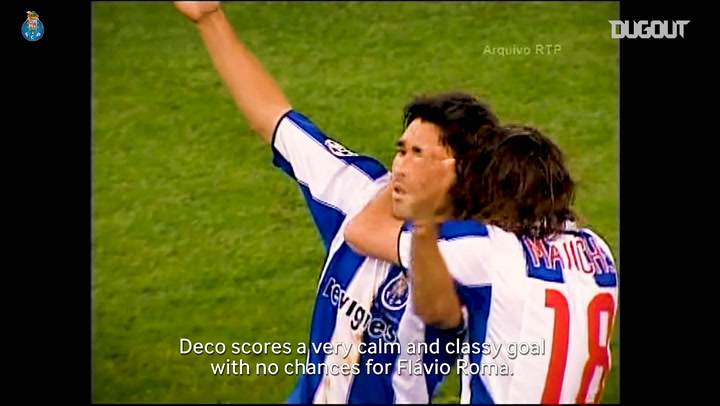 João Pinto Relives Deco's FC Porto Career