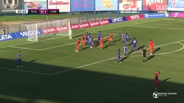 Toni Datković Scores First Lokomotiva Goal!