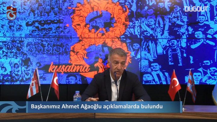 Ahmet Ağaoğlu: Bu Karar CAS'tan Dönecektir