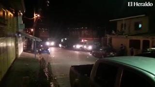 Cinco personas muertas tras ataque en colonia El Pedregalito