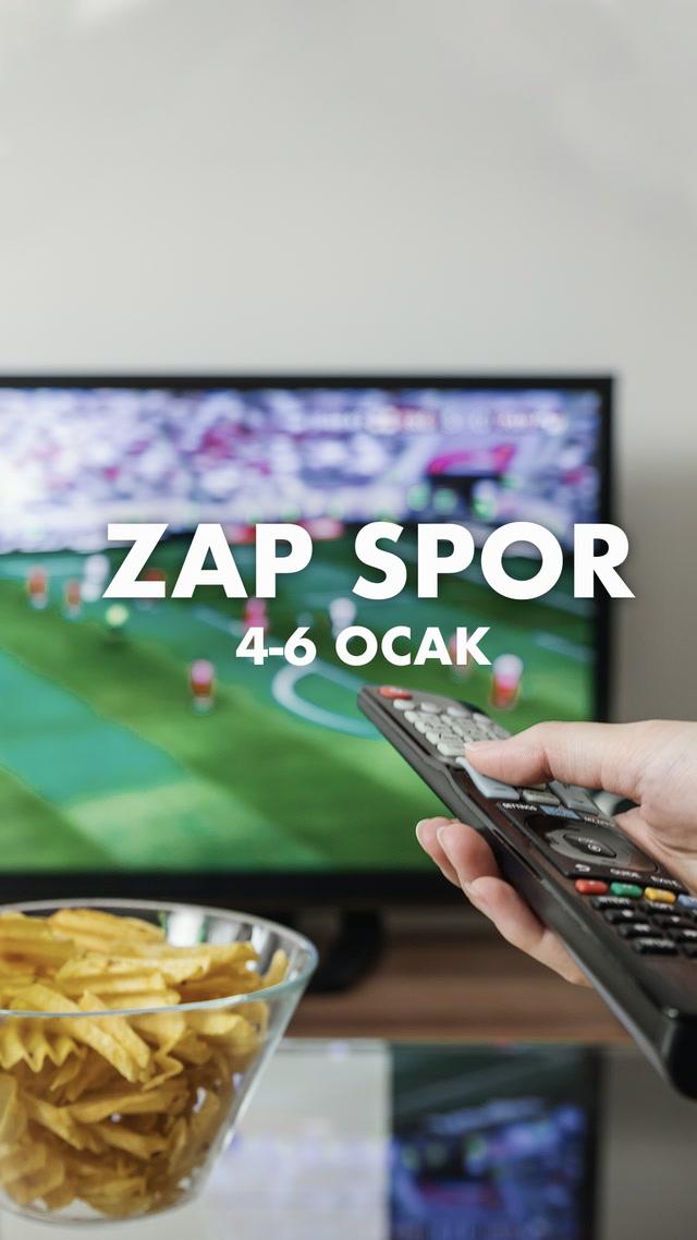 Zap Spor / 4-6 Ocak