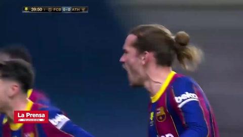 Barcelona cae ante el Athletic y deja escapar el título de la Supercopa de España
