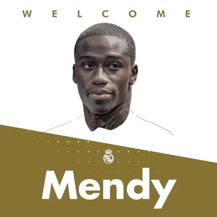 Mendy, nuevo jugador del Real Madrid