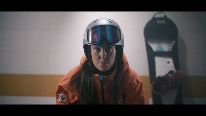 La snowboarder Astrid Fina salta al cine con su emotiva historia de superación