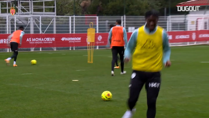 Disasi's great goals at training session