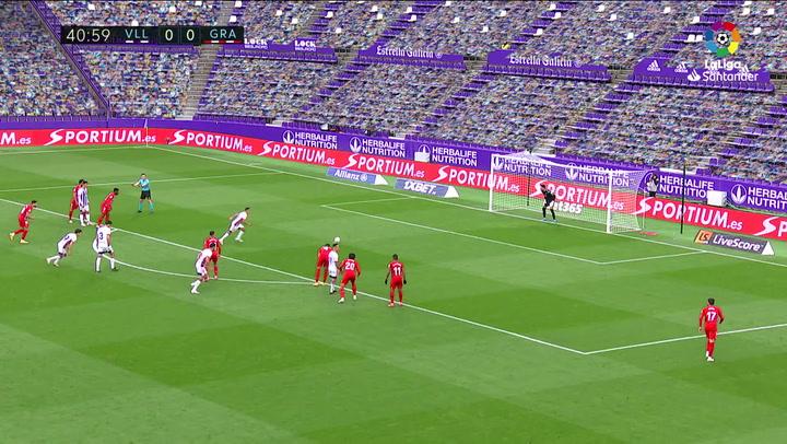 Gol de Orellana (p.) (1-0) en el Valladolid 1-2 Granada