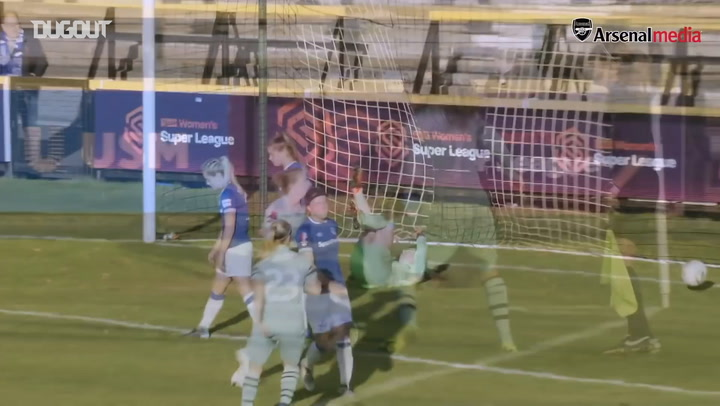 Miedema and Nobbs team up for classy goal vs Everton