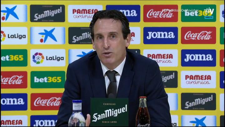 Unai Emery cuenta como le expulsaron en el Villarreal - Real Betis