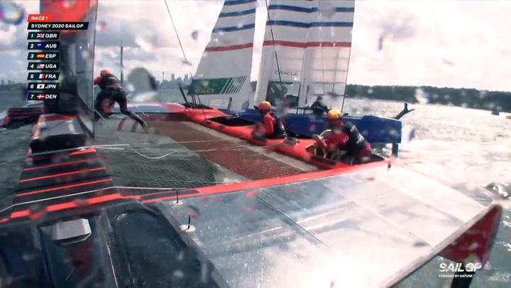 El equipo español de Sail GP ya está en Bermuda