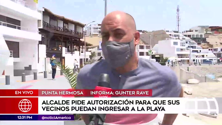 Alcalde de Punta Hermosa propone que solo sus vecinos puedan acceder a playas
