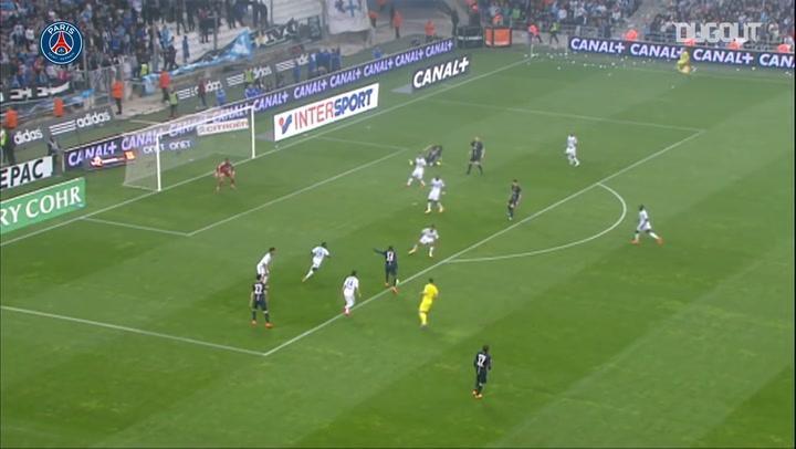Blaise Matuidi superb finish vs Marseille in 2015