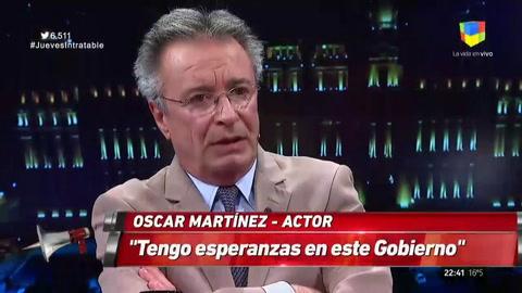 Oscar Martínez: Argentina es un país que se suicidó
