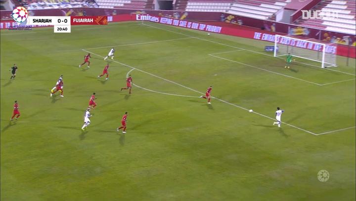Highlights: Al Fujairah 2-4 Sharjah