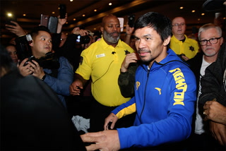 Pacquiao-Broner Grand Arrivals