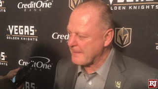 Golden Knights On Win Against Devils