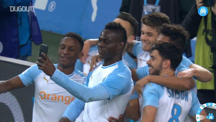 Mario Balotelli's Instagram Goal Celebration