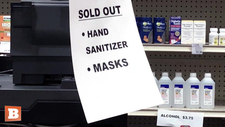 Coronavirus: D.C. Shoppers Clear Shelves of Hand Sanitizer