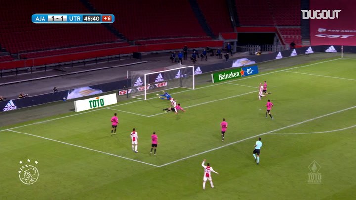 Ajax's run to the 2021 KNVB Cup final