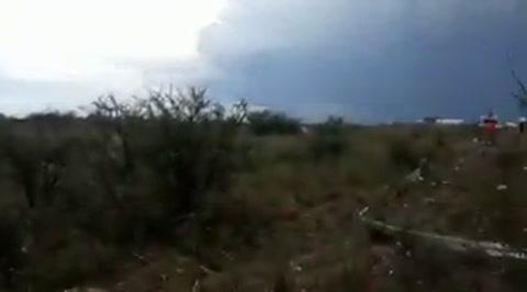 Milagro en México: un avión cae al despegar y se salvan sus 101 ocupantes
