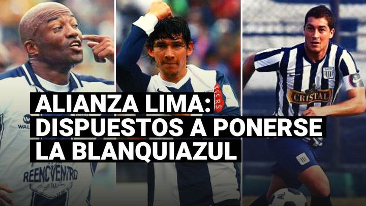 Alianza Lima: conoce a los exjugadores que se ofrecieron ponerse la blanquiazul en la Liga 2