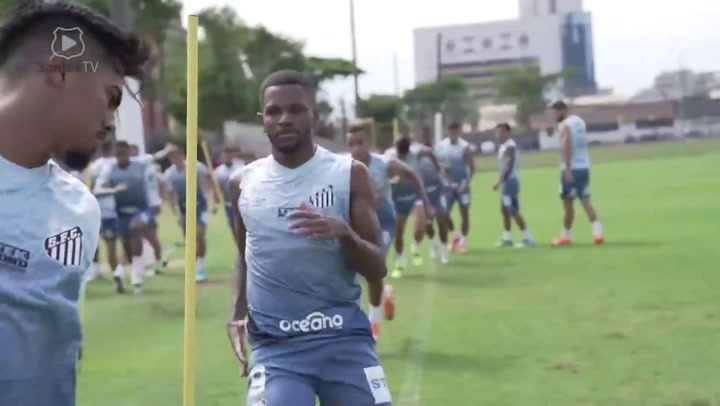 Santos' players are back to training centre
