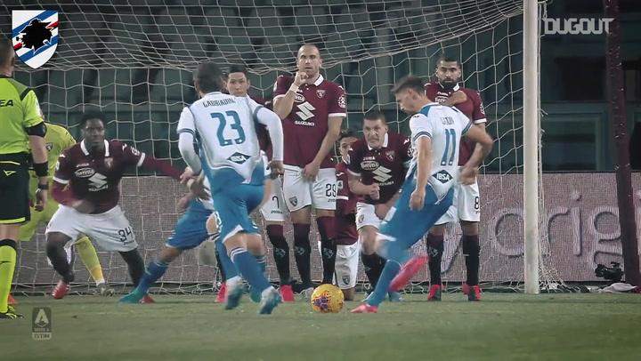 Sampdoria's best moments of 2019-20 so far