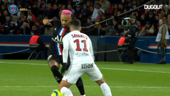 Los mejores regates de Neymar y Ronaldinho en el PSG