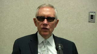 Senate Minority Leader Harry Reid on infrastructure and national debt