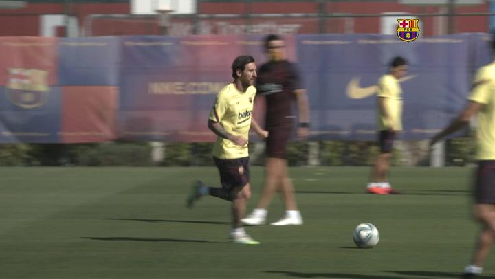 Messi acelera para Mallorca
