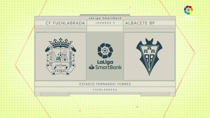 LaLiga SmartBank (J.3): Fuenlabrada 1-0 Albacete