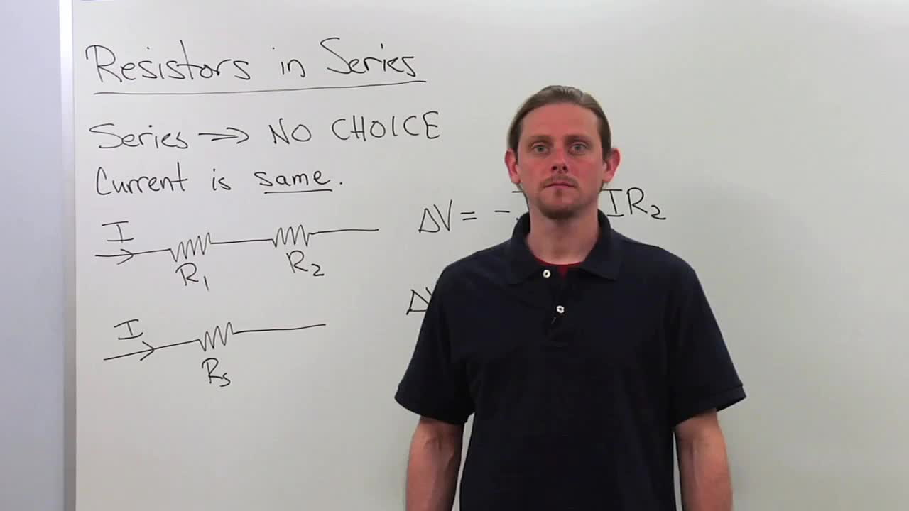Resistors In Series Physics Video By Brightstorm Electric Circuits And Parallel Free