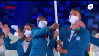 ¡Orgullo nacional! Así lució Honduras junto a sus atletas en la ceremonia inaugural de Tokio 2021