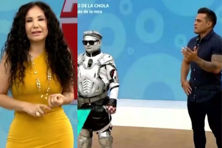 """Janet Barboza trolea a Christian Domínguez tras duelo de baile: """"Baila maravilloso pero Robotín es un hombre fiel"""""""