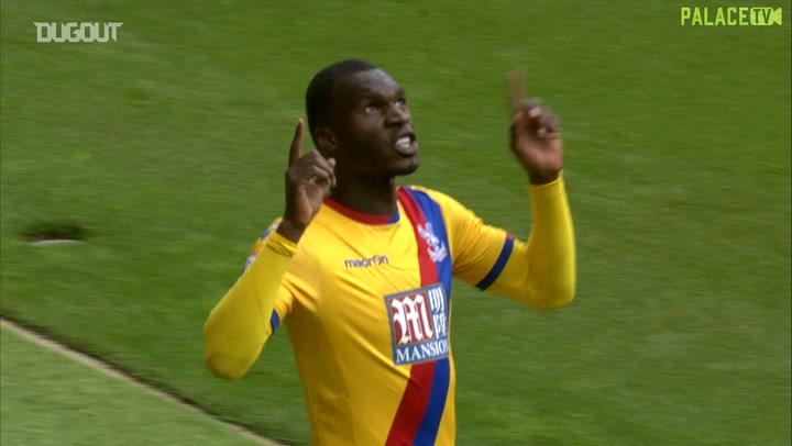 Christian Benteke scores first Crystal Palace goal