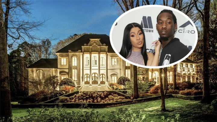 Cardi B and Offset's New Atlanta Mansion Is an Eye-Popper