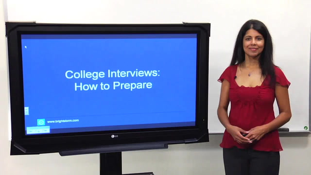How Do I Prepare for College Interviews?