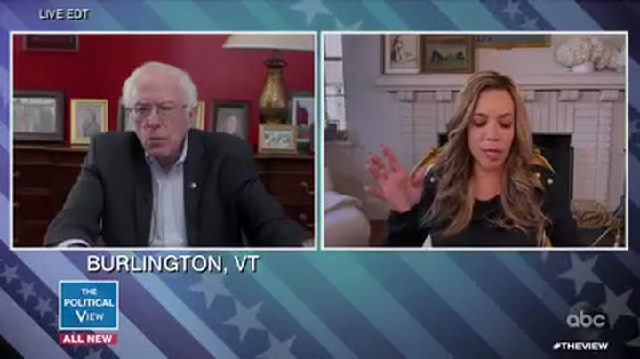 Sanders: Trump's Coronavirus Inaction 'Has Cost the Lives of Many, Many Americans'