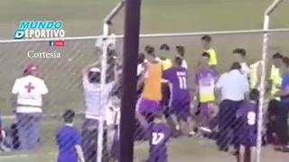 Zafarrancho en Liga Mayor de Santa Bárbara:  Jugador inconsciente y repartición de golpes entre DT y presidente