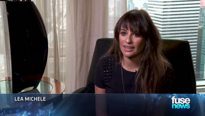 Shows: Fuse News: Lea Michele: 'It's Important To Sing My Own Music'